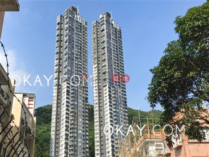 HK$ 40M Serenade Wan Chai District | Stylish 3 bedroom on high floor with balcony & parking | For Sale