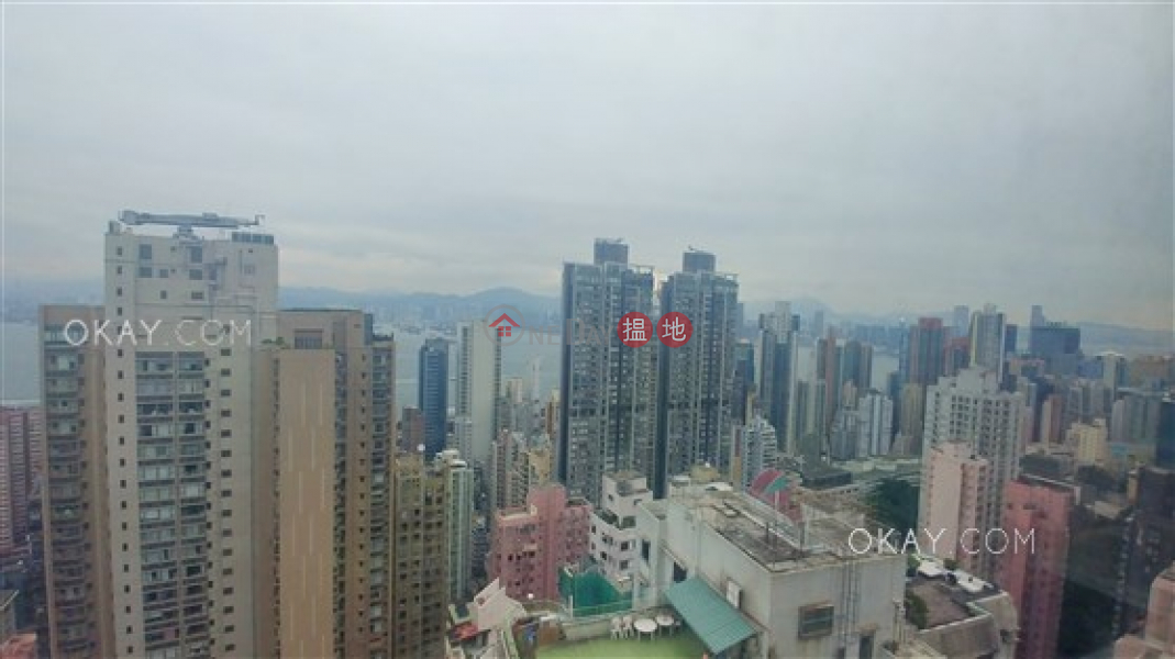 Lovely 3 bedroom on high floor with harbour views | For Sale | Ning Yeung Terrace 寧養臺 Sales Listings