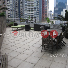 Unique 2 bedroom with terrace & balcony   Rental