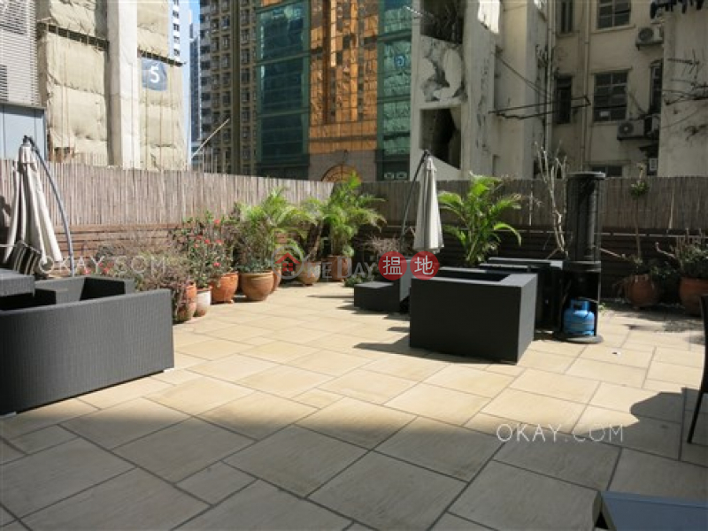 Charming studio with terrace | For Sale, 168 Connaught Road West | Western District Hong Kong, Sales | HK$ 9M