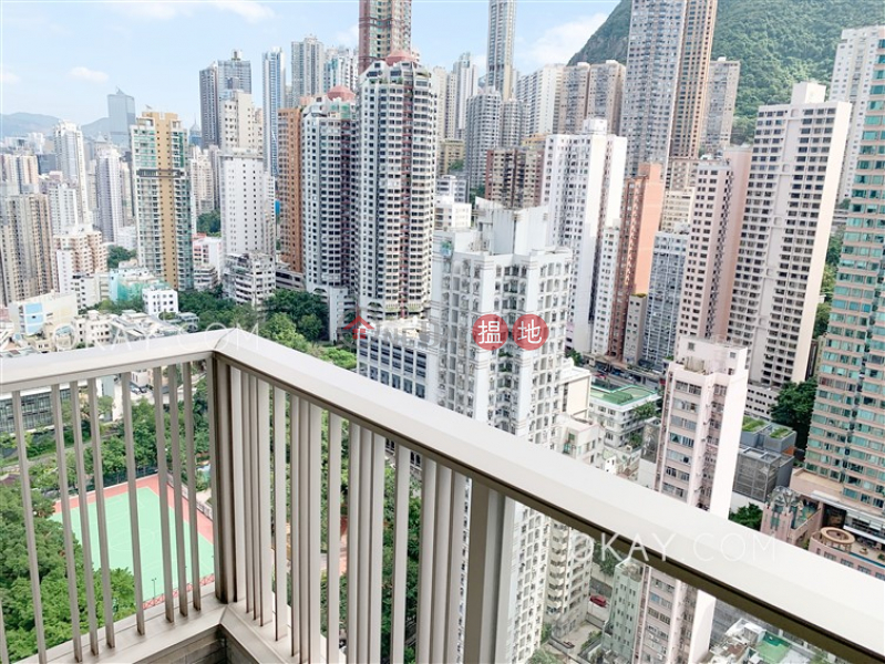 Lovely 2 bedroom on high floor with balcony | Rental 8 First Street | Western District, Hong Kong Rental, HK$ 37,000/ month