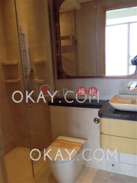 HK$ 10.5M Cadogan | Western District, Unique 1 bed on high floor with harbour views & balcony | For Sale