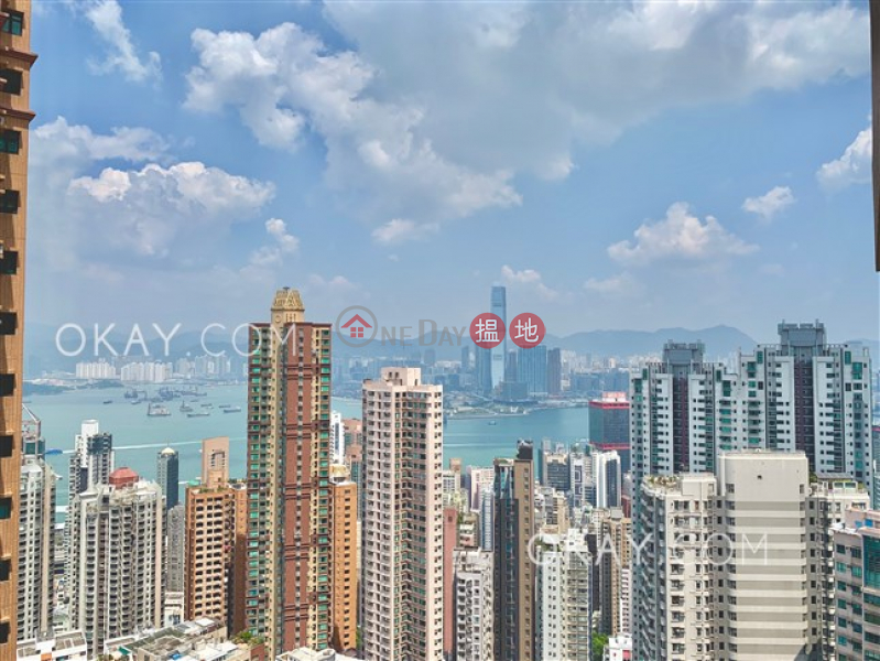 Efficient 2 bed on high floor with sea views & balcony | Rental | Realty Gardens 聯邦花園 Rental Listings