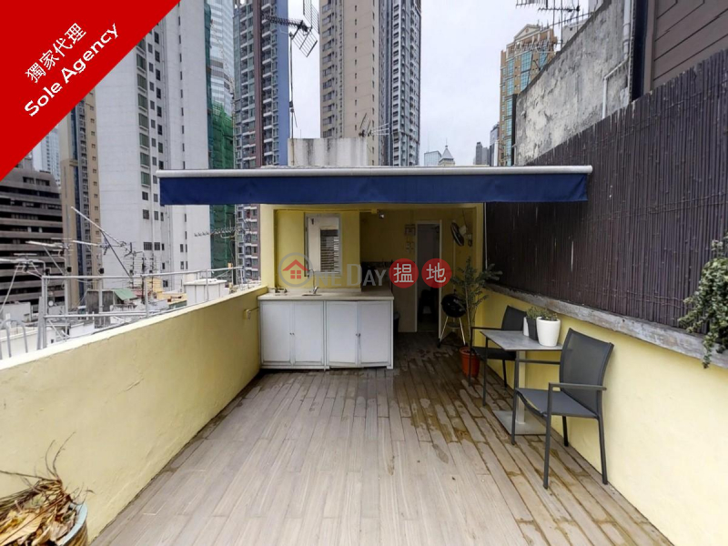 Studio Flat for Rent in Soho, 7 Mee Lun Street 美輪街7號 Rental Listings | Central District (EVHK96934)