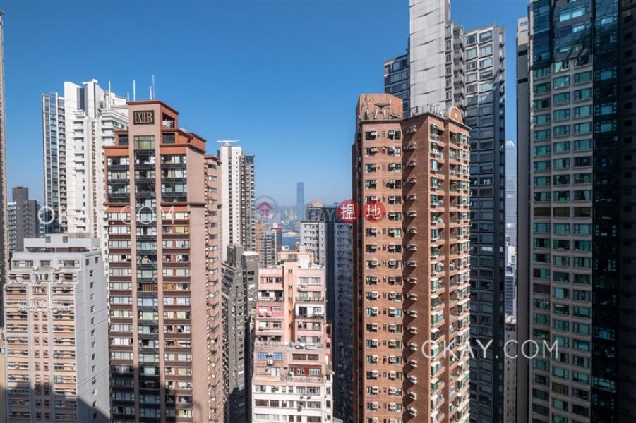 Lovely 3 bedroom on high floor with sea views & balcony | Rental | Elegant Terrace Tower 2 慧明苑2座 Rental Listings