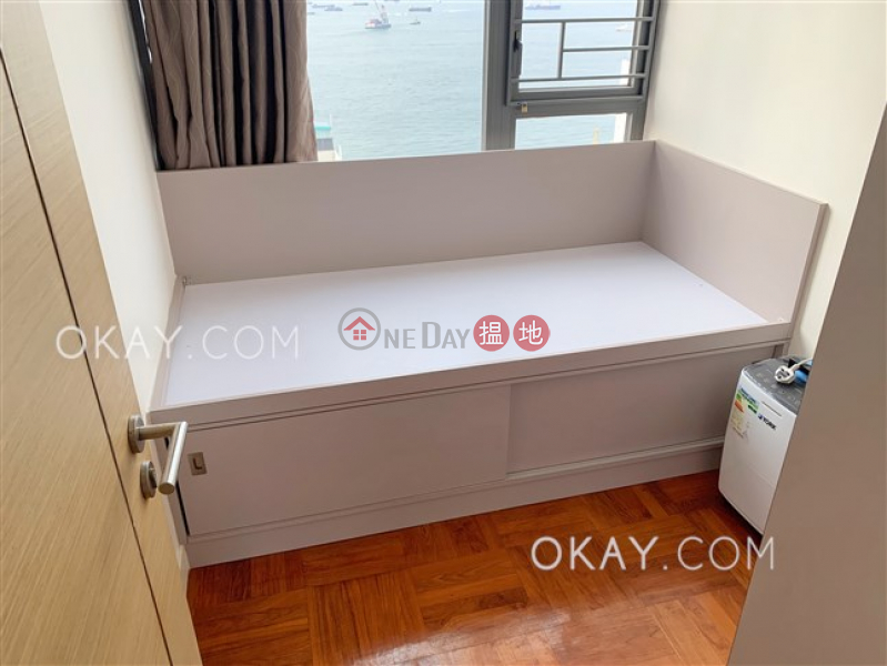 HK$ 28,500/ month 18 Catchick Street, Western District, Charming 3 bed on high floor with sea views & balcony   Rental