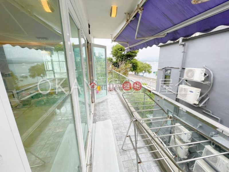 Popular house with sea views, rooftop & balcony | Rental | Tso Wo Hang Village House 早禾坑村屋 Rental Listings