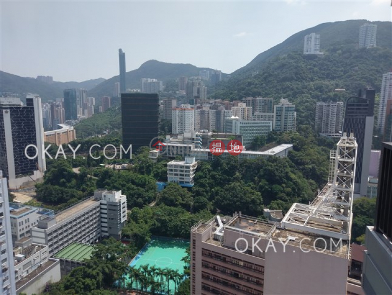 HK$ 33,000/ month L\' Wanchai, Wan Chai District, Stylish 1 bedroom on high floor with balcony | Rental