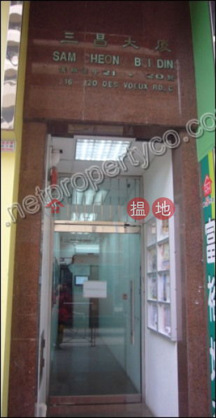 Spacious office for rent in Sheung Wan, Sam Cheong Building 三昌大廈 Rental Listings | Western District (A061546)