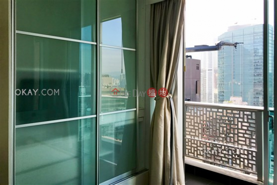Generous 1 bed on high floor with sea views & balcony | Rental 60 Johnston Road | Wan Chai District, Hong Kong Rental HK$ 26,000/ month