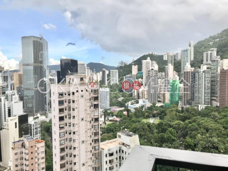 2房1廁,實用率高,極高層,星級會所本舍出租單位18堅道 | 西區|香港|出租-HK$ 38,000/ 月