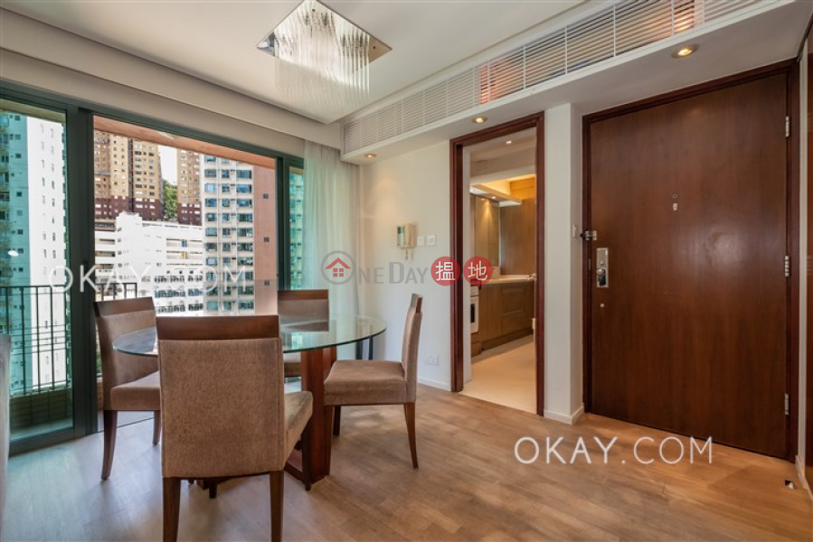 Nicely kept 2 bedroom with balcony | Rental | Jardine Summit 渣甸豪庭 Rental Listings