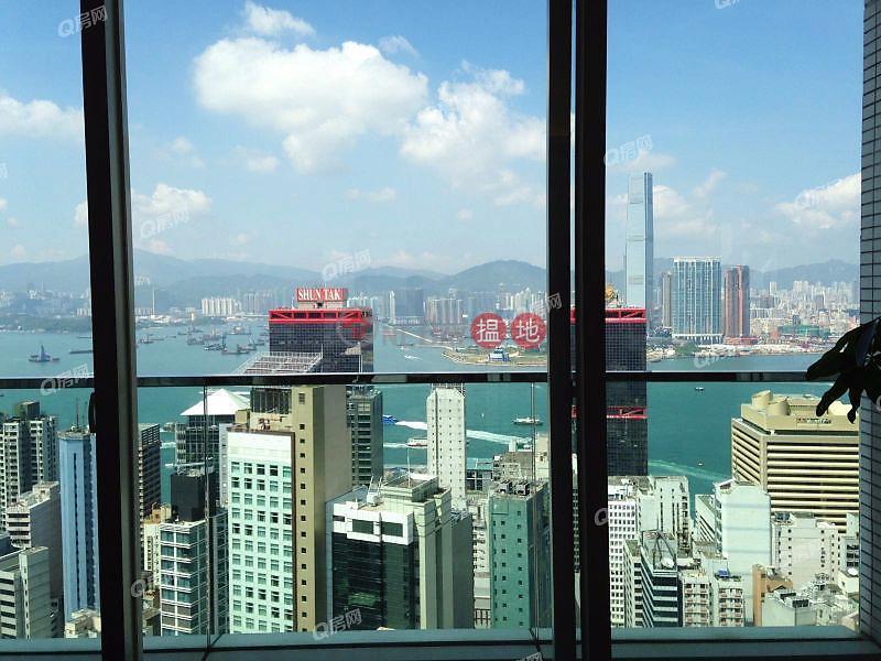 交通方便,無敵景觀,高層海景,名牌校網,維港海景《聚賢居買賣盤》|108荷李活道 | 中區-香港|出售HK$ 6,000萬