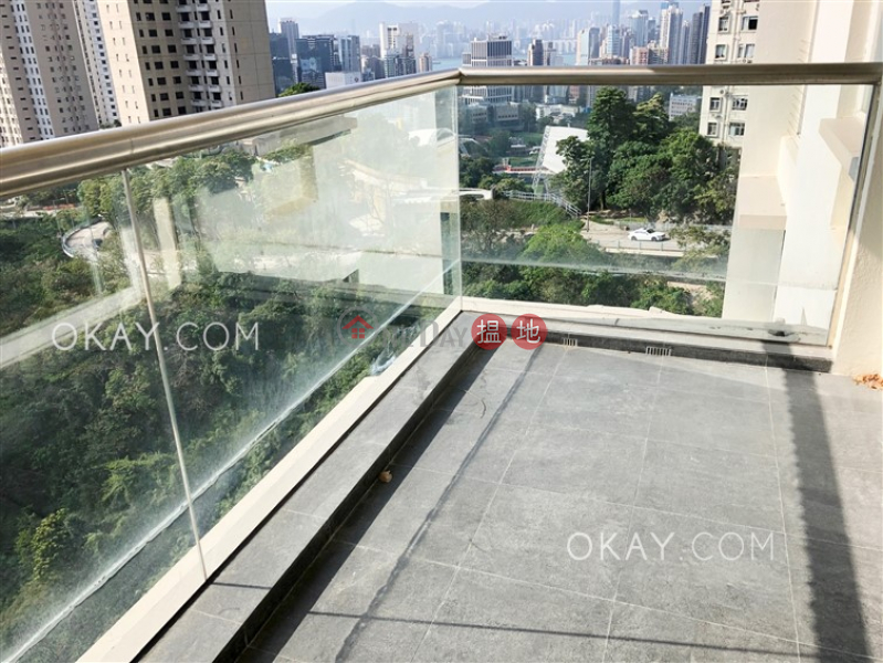 Gorgeous 2 bedroom on high floor with balcony & parking | Rental | 156 Tai Hang Road | Wan Chai District | Hong Kong, Rental HK$ 80,000/ month