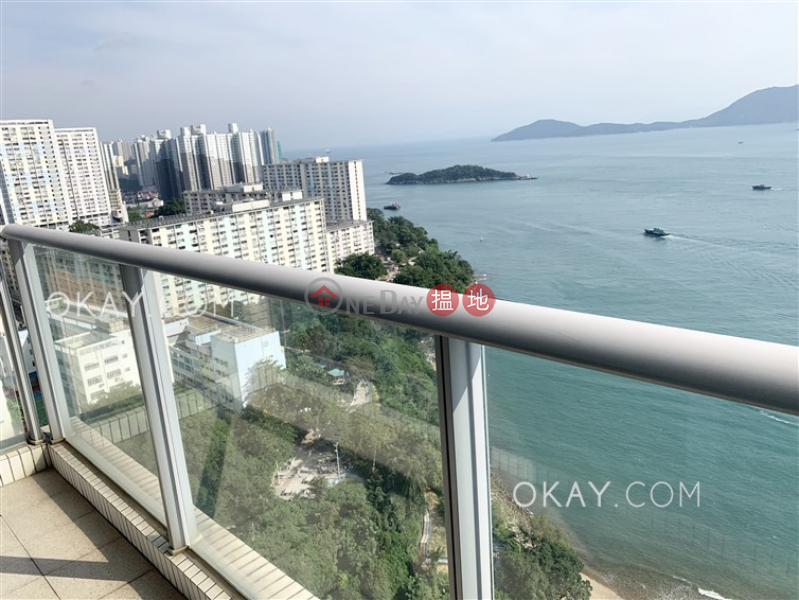 Exquisite 3 bed on high floor with sea views & balcony | Rental | Phase 4 Bel-Air On The Peak Residence Bel-Air 貝沙灣4期 Rental Listings