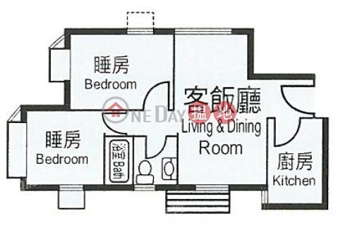 Heng Fa Chuen Block 21 | 2 bedroom Mid Floor Flat for Rent|Heng Fa Chuen Block 21(Heng Fa Chuen Block 21)Rental Listings (QFANG-R91533)_0