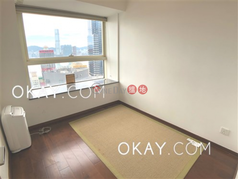 HK$ 52,000/ month | Centrestage, Central District | Lovely 3 bed on high floor with harbour views & balcony | Rental