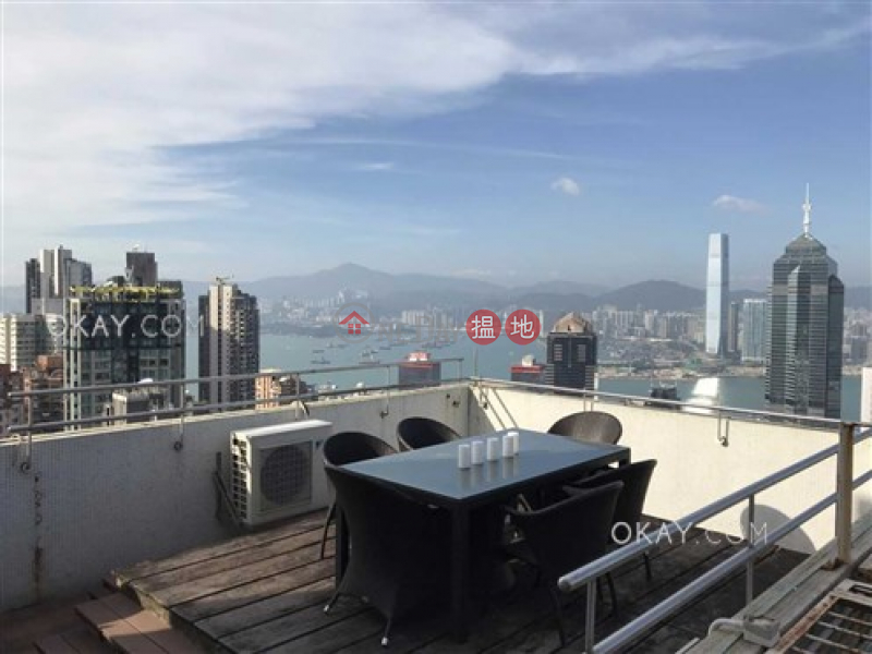 Rare penthouse with harbour views & rooftop | For Sale 8 Conduit Road | Western District Hong Kong, Sales HK$ 14M