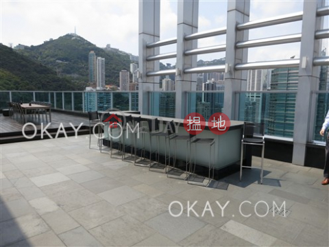 Cozy 1 bedroom on high floor with balcony | Rental|J Residence(J Residence)Rental Listings (OKAY-R62839)_0