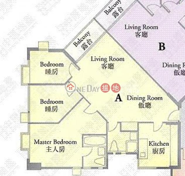 寶馬山三房兩廳筍盤出租 住宅單位 寶馬山花園(Pacific Palisades)出租樓盤 (EVHK91305)
