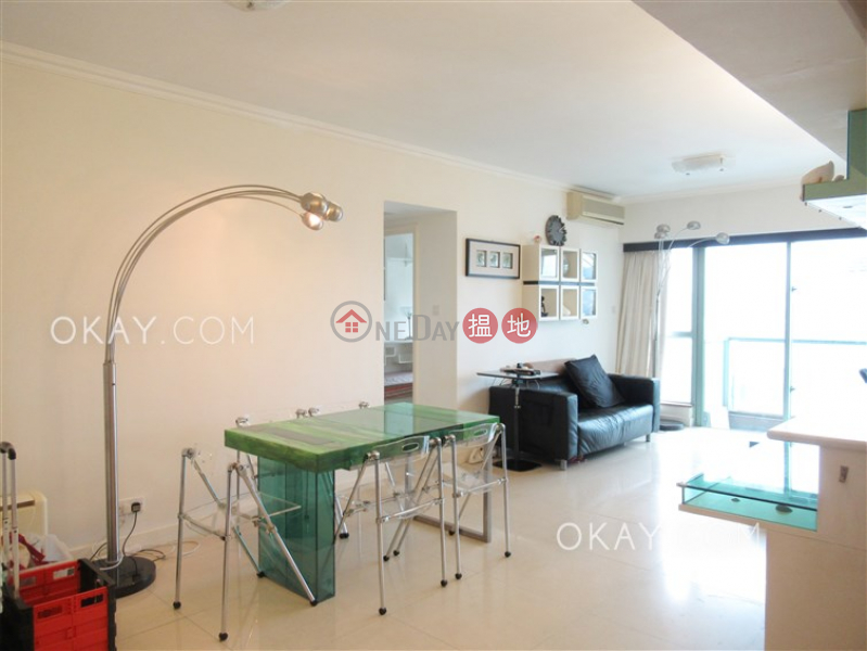 Charming 3 bed on high floor with sea views & balcony | Rental | Tower 2 The Victoria Towers 港景峯2座 Rental Listings