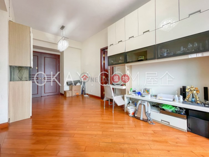 HK$ 18M   The Hermitage Tower 1   Yau Tsim Mong   Luxurious 3 bedroom with balcony   For Sale