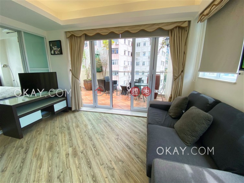 Stylish 1 bed on high floor with sea views & rooftop | For Sale | 141-145 Caine Road | Central District Hong Kong Sales | HK$ 11M