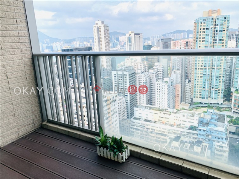 HK$ 13M | Mount East Eastern District | Tasteful 2 bedroom on high floor with balcony | For Sale