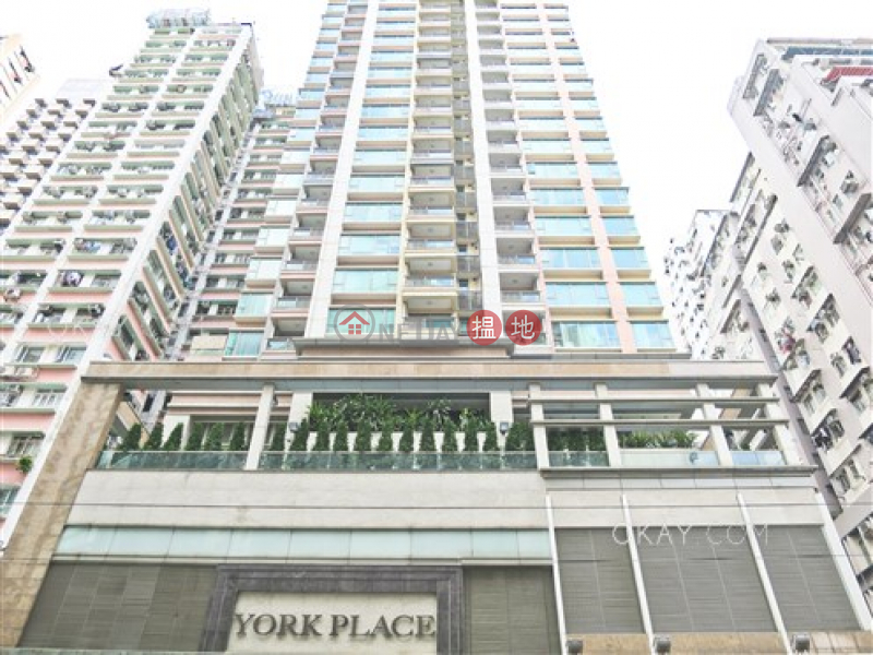 HK$ 26,800/ month York Place Wan Chai District, Luxurious 1 bedroom with balcony | Rental