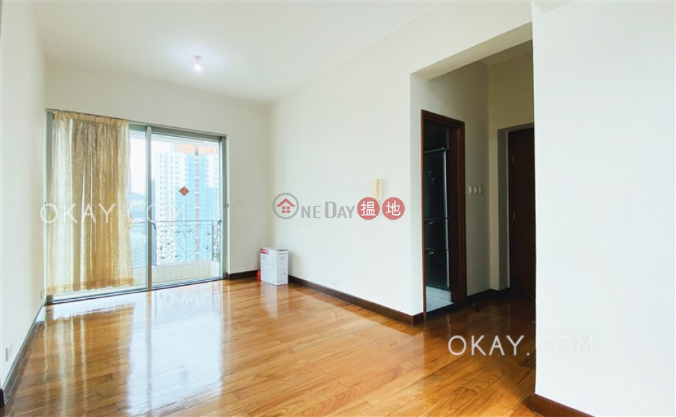 Unique 3 bedroom on high floor with balcony | Rental | Grand Garden 君悅軒 Rental Listings