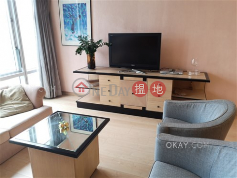 Unique 1 bedroom on high floor | Rental|Wan Chai DistrictConvention Plaza Apartments(Convention Plaza Apartments)Rental Listings (OKAY-R31550)_0