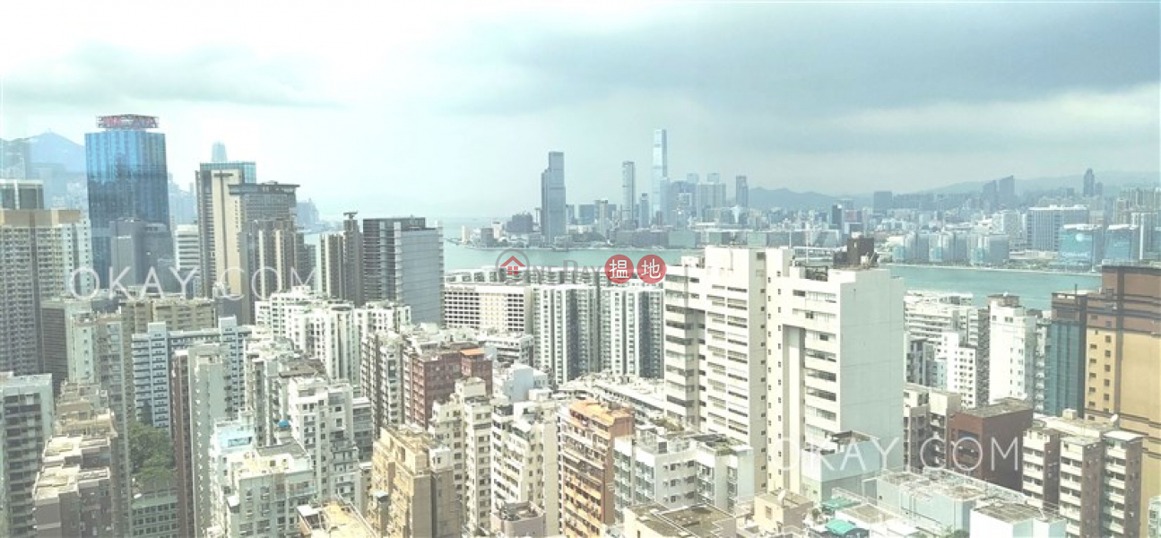 Property Search Hong Kong | OneDay | Residential | Rental Listings | Nicely kept 1 bed on high floor with sea views | Rental