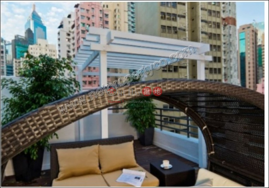Property Search Hong Kong | OneDay | Residential, Rental Listings Service Apartment for Lease with Terrace