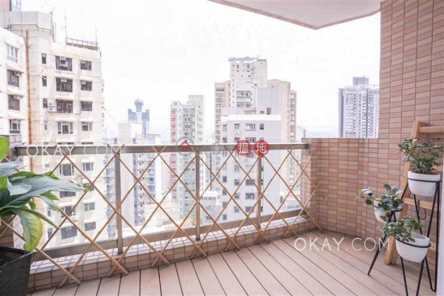 Rare 3 bedroom on high floor with balcony   Rental   Ning Yeung Terrace 寧養臺 Rental Listings