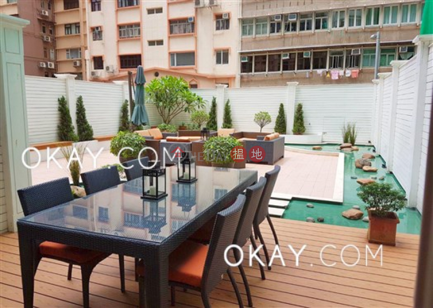 Elegant 2 bedroom with terrace | Rental, 22-22a Caine Road | Western District, Hong Kong Rental, HK$ 49,000/ month