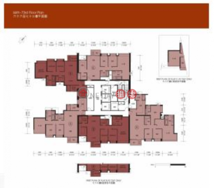 3 Bedroom Family Flat for Sale in West Kowloon | The Arch 凱旋門 Sales Listings