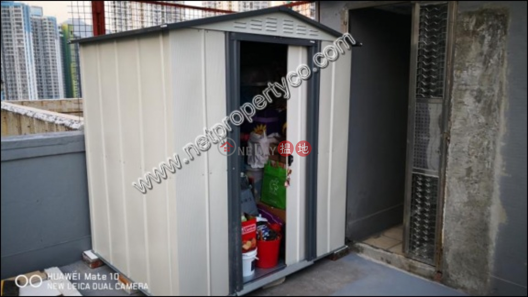 Cozy Apartment w/Rooftop, Tak Bo Garden 得寶花園 Rental Listings   Kwun Tong District (A058900)