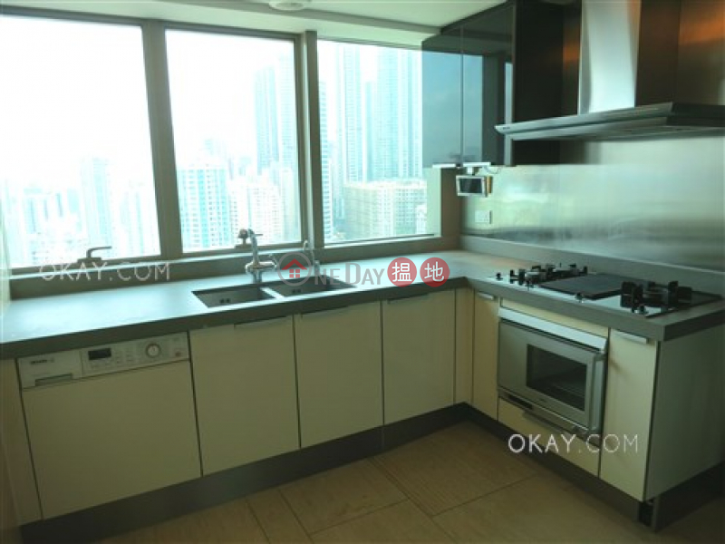 HK$ 50M, Centre Place, Western District, Unique 3 bed on high floor with harbour views & balcony | For Sale