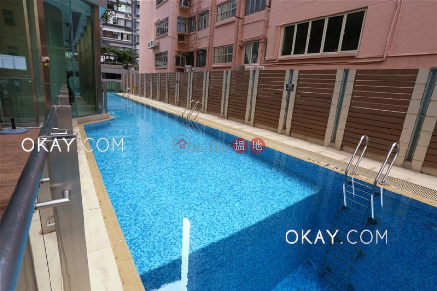 香港搵樓|租樓|二手盤|買樓| 搵地 | 住宅|出租樓盤-1房1廁,極高層,星級會所,露台干德道38號The ICON出租單位