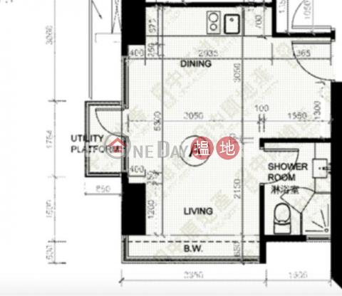 Studio Flat for Rent in Shek Tong Tsui Western DistrictEivissa Crest(Eivissa Crest)Rental Listings (EVHK94664)_0
