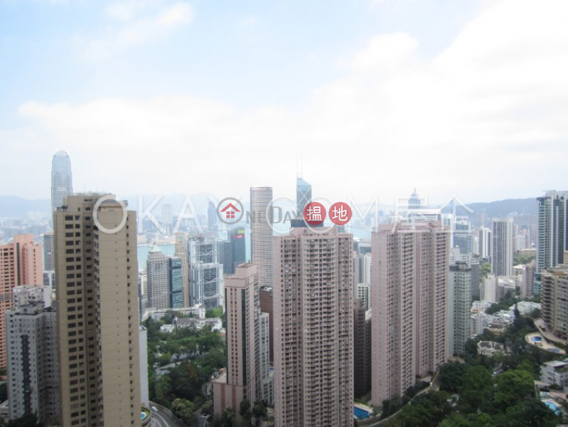 Gorgeous 4 bedroom on high floor with balcony & parking | Rental | Clovelly Court 嘉富麗苑 Rental Listings