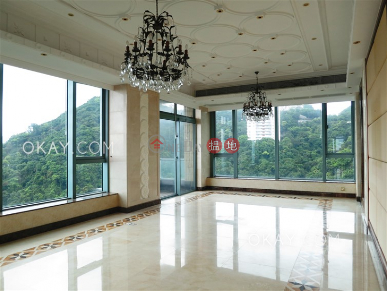 Gorgeous 3 bedroom on high floor with balcony & parking   Rental   Bowen\'s Lookout 寶雲道13號 Rental Listings