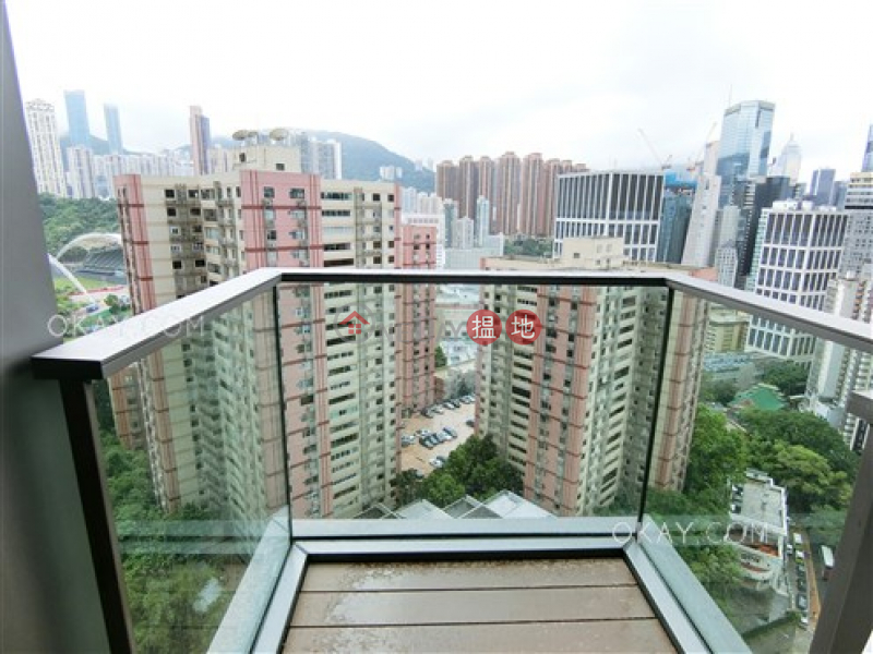 Tasteful 1 bedroom with balcony | For Sale | 8 Jones Street | Wan Chai District | Hong Kong Sales HK$ 12M