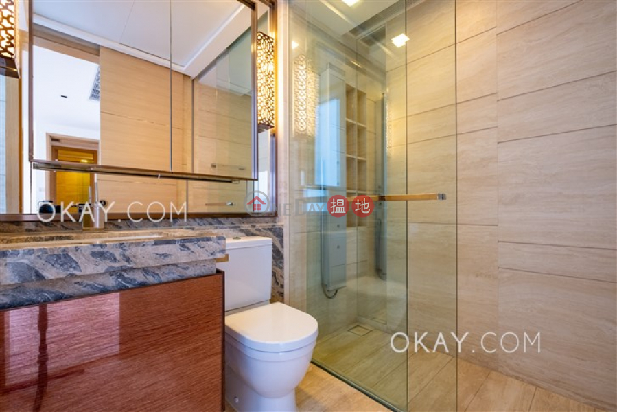 Property Search Hong Kong | OneDay | Residential Rental Listings | Unique 3 bed on high floor with harbour views & balcony | Rental