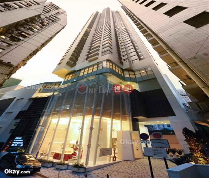 香港搵樓|租樓|二手盤|買樓| 搵地 | 住宅出租樓盤-2房1廁,極高層,星級會所,露台《盈峰一號出租單位》