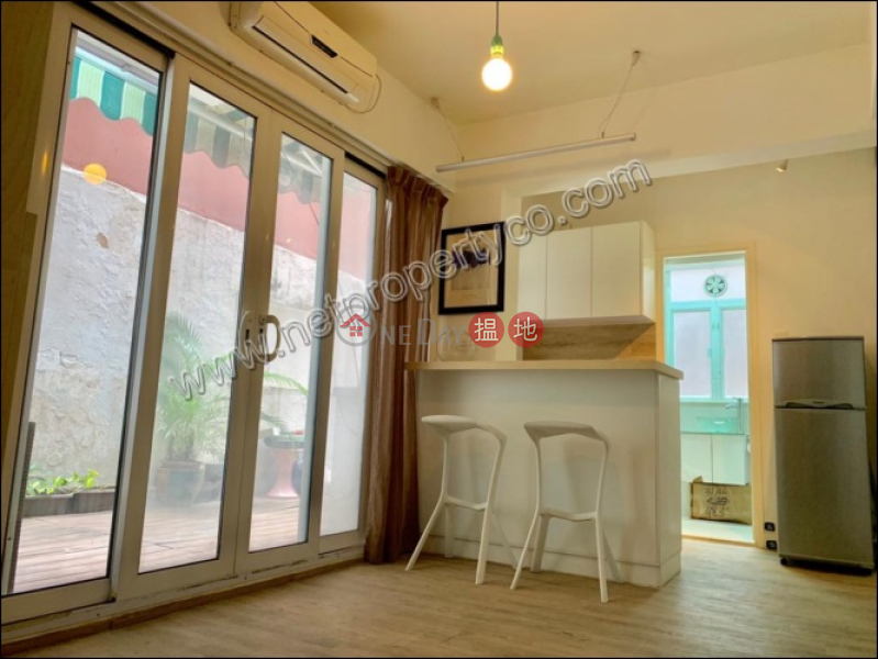 Apartment with Terrace for Rent in Wan Chai   Wing Kit Building 永傑樓 Rental Listings