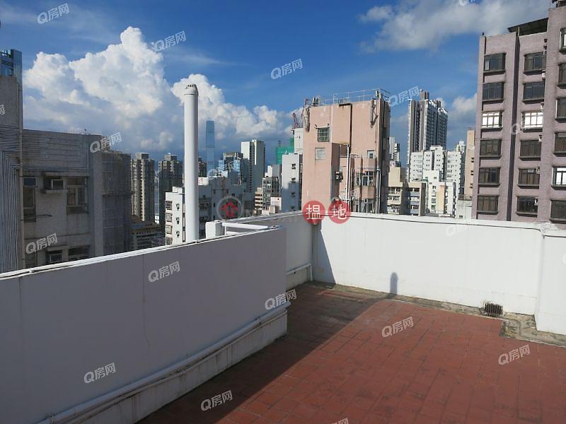 HK$ 720萬居仁閣西區-2房連天臺上車盤 有裝修《居仁閣買賣盤》