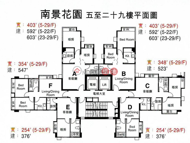 Property Search Hong Kong | OneDay | Residential, Sales Listings | South View Garden | 1 bedroom Mid Floor Flat for Sale