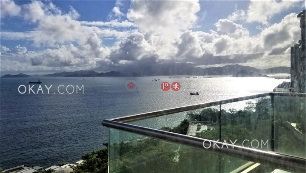 Efficient 3 bedroom with sea views, balcony | Rental | Block A Cape Mansions 翠海別墅A座 Rental Listings