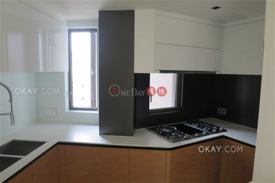 Unique 3 bedroom on high floor with balcony | Rental 1 Lun Hing Street | Wan Chai District Hong Kong | Rental | HK$ 55,000/ month